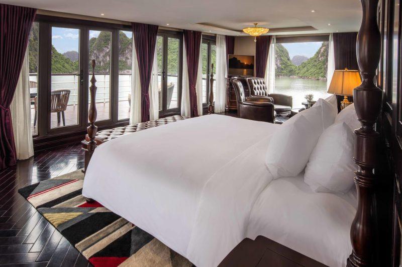 Phòng nghỉ trên President Hạ Long