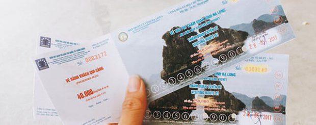 Hướng dẫn cách mua vé tham quan vịnh hạ long