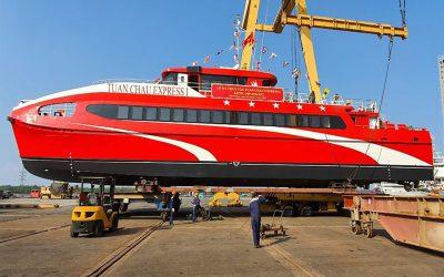 Hạ Thủy 3 tàu cao tốc phục vụ tuyến du lịch cô tô - tuần châu