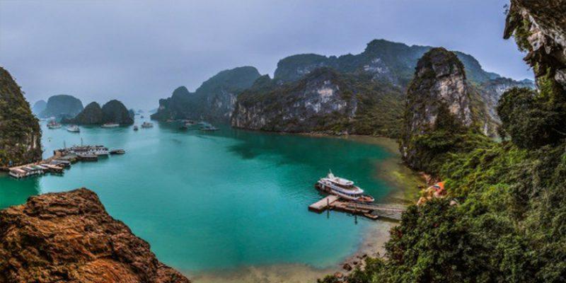 Vẽ đẹp hoang sơ Vịnh Lan Hạ
