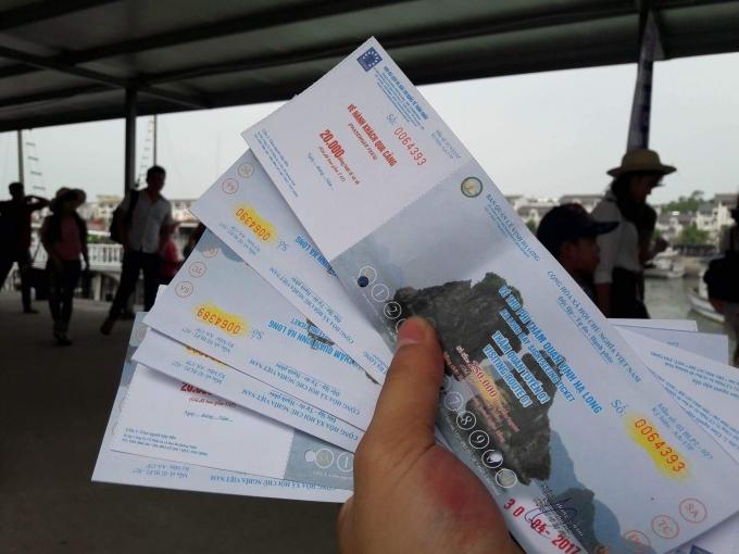 Miễn phí vé thăm quan vịnh Hạ Long