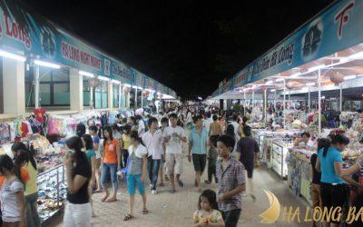 Chợ đêm Bãi Cháy có gì